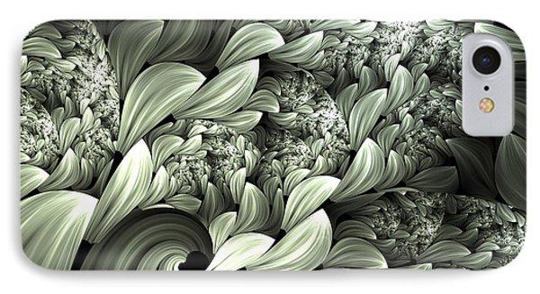 Pastel Garden Abstract IPhone Case by Georgiana Romanovna