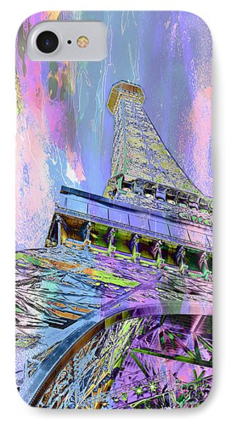 Pastel Tower IPhone 7 Case by Az Jackson