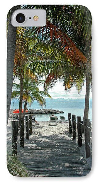 Path To Smathers Beach - Key West Phone Case by Frank Mari