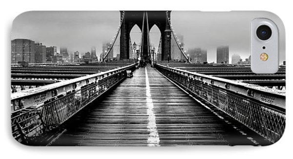 Path To The Big Apple IPhone Case by Az Jackson