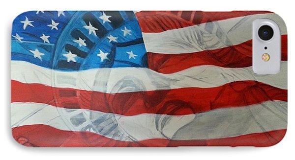 Patriotic Phone Case by Michelley Fletcher