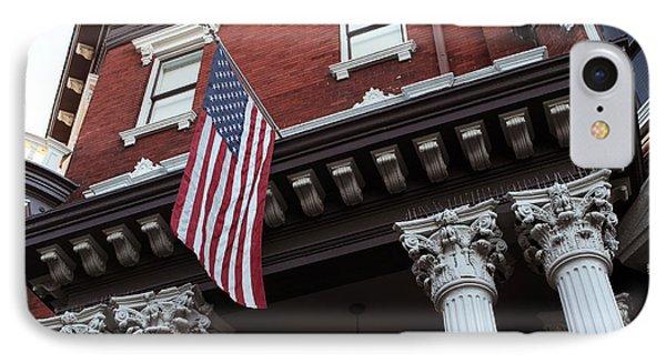 Patriotic Savannah IPhone Case by John Rizzuto