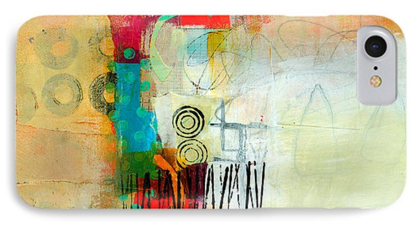 Pattern Study #1 IPhone Case by Jane Davies