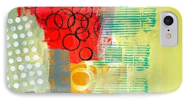 Pattern Study #3 IPhone Case by Jane Davies