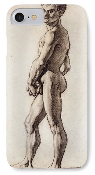 Male Nude IPhone Case by Paul Cezanne