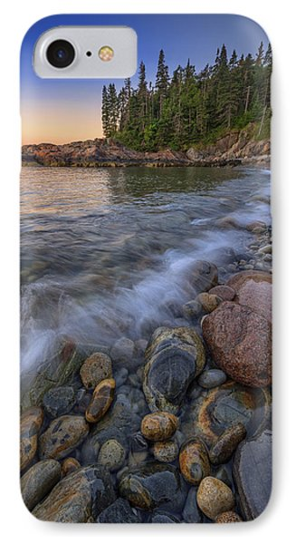 Peace And Quiet On Little Hunters Beach IPhone Case by Rick Berk
