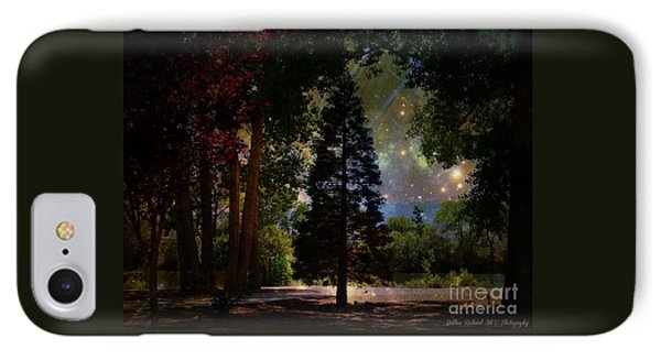 Magical Night At The River IPhone Case by Bobbee Rickard