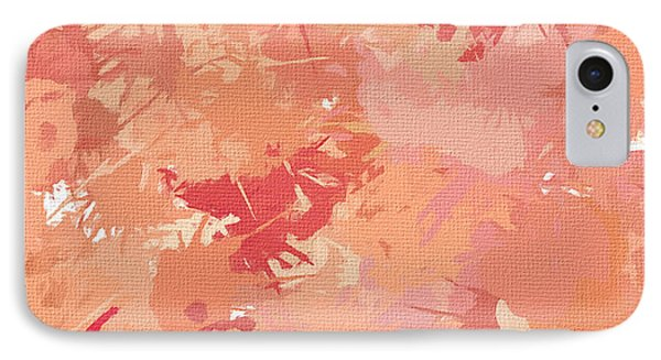 Peach Galore IPhone 7 Case by Lourry Legarde