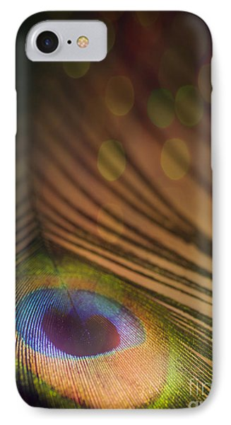 Peacock Party Phone Case by Jan Bickerton