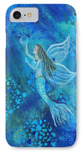 Pearl Out Of The Depths Phone Case by The Art With A Heart By Charlotte Phillips