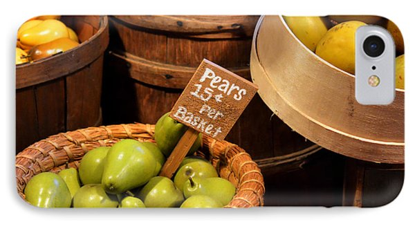 Pears - 15 Cents Per Basket Phone Case by Christine Till
