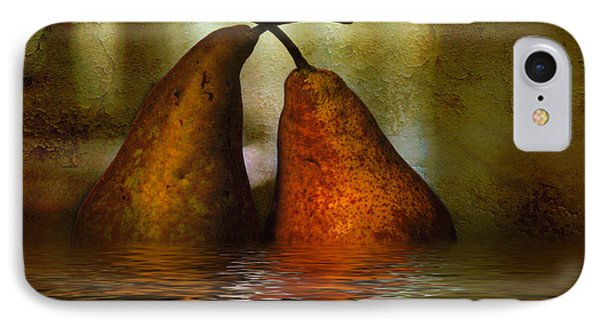 Pears In Water IPhone 7 Case by Kaye Menner