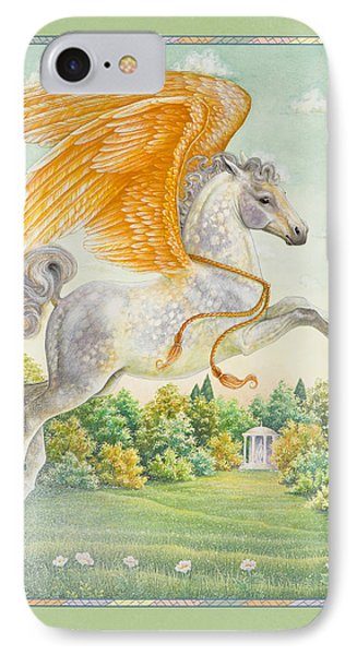Pegasus IPhone Case by Lynn Bywaters