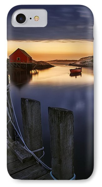Peggy's Cove Harbour IPhone Case by Magda  Bognar