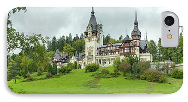 Peles Castle In The Carpathian IPhone 7 Case by Panoramic Images