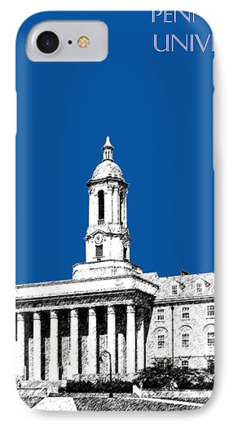 Penn State University - Royal Blue IPhone 7 Case by DB Artist