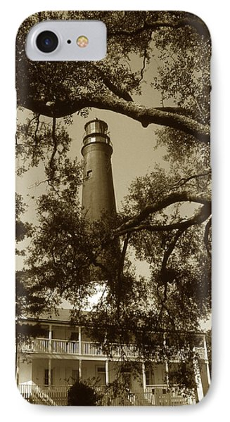 Pensacola Lighthouse Phone Case by Skip Willits
