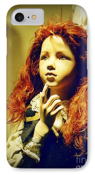 Pensive Mannequin Phone Case by Halifax Photography John Malone