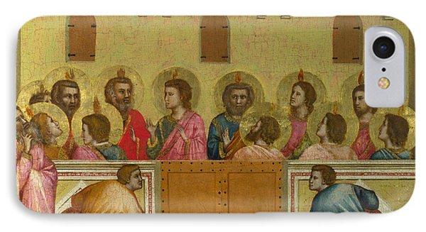 Pentecost IPhone Case by Giotto di Bondone