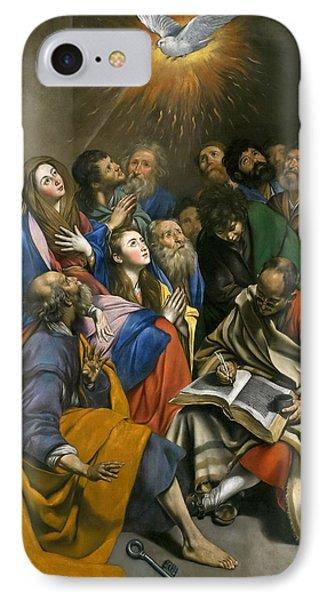 Pentecost IPhone Case by Juan Bautista Maino
