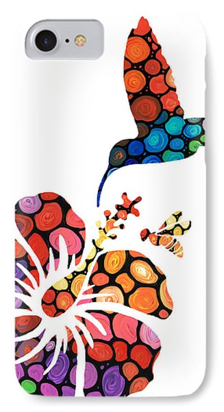 Perfect Harmony - Nature's Sharing Art Phone Case by Sharon Cummings
