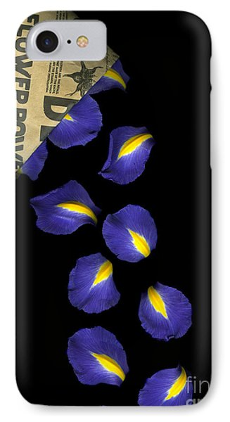 Petal Chips IPhone Case by Christian Slanec