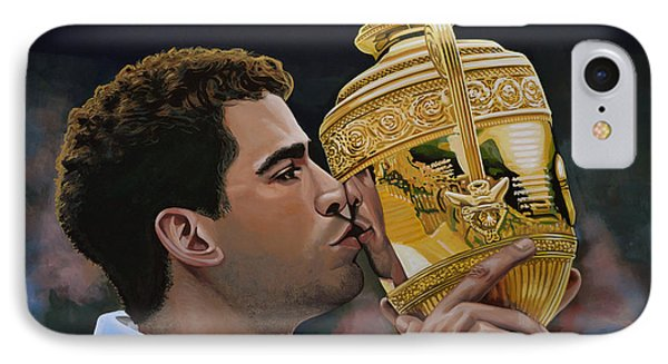 Pete Sampras IPhone Case by Paul Meijering