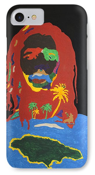 Peter Tosh Bush Doctor IPhone Case by Stormm Bradshaw