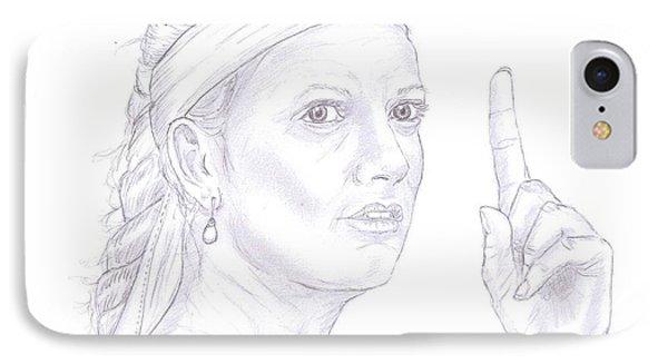 Petra Kvitova IPhone Case by Steven White