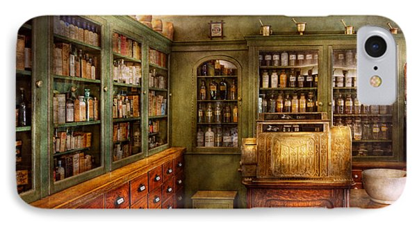 Pharmacy - Room - The Dispensary Phone Case by Mike Savad