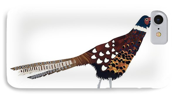 Pheasant IPhone 7 Case by Isobel Barber