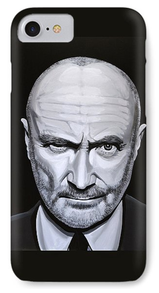 Phil Collins IPhone Case by Paul Meijering