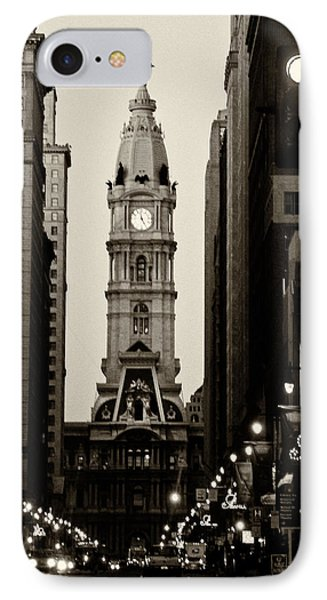Philadelphia City Hall Phone Case by Louis Dallara
