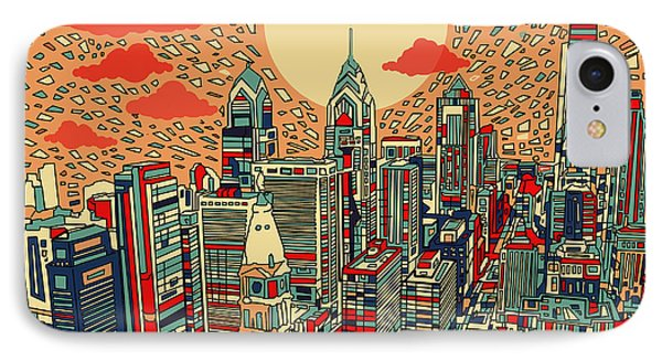 Philadelphia Dream IPhone Case by Bekim Art
