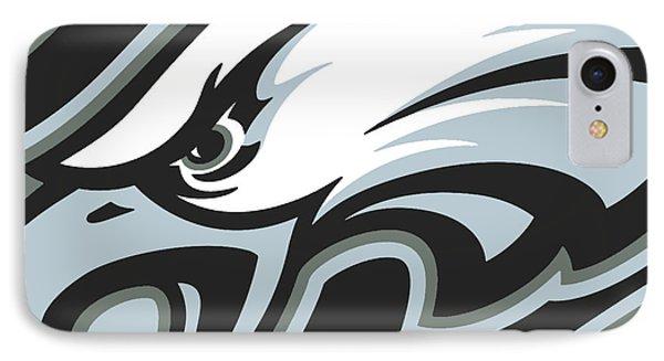 Philadelphia Eagles Football IPhone Case by Tony Rubino
