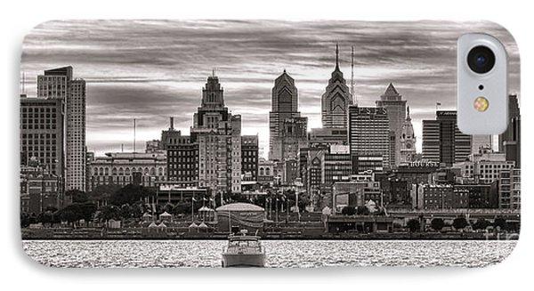 Philadelphia Silver Phone Case by Olivier Le Queinec