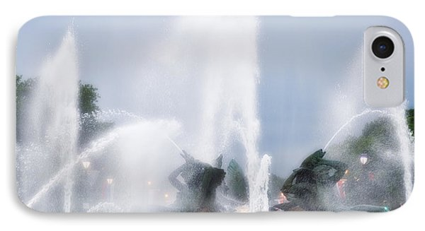 Philadelphia - Swann Memorial Fountain Phone Case by Bill Cannon