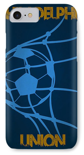 Philadelphia Union Goal IPhone 7 Case by Joe Hamilton