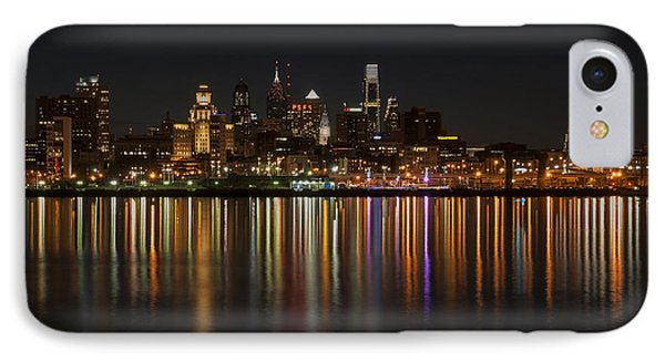 Philly Night Phone Case by Jennifer Ancker