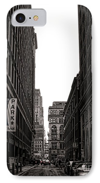 Philly Street Phone Case by Olivier Le Queinec