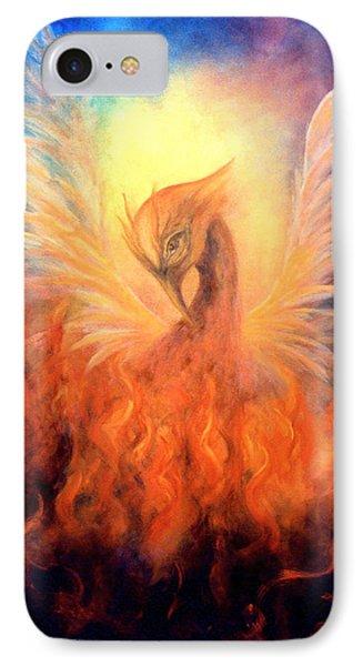 Phoenix Rising IPhone Case by Marina Petro