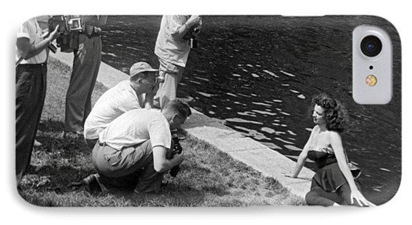 Photogenic Photo Shoot IPhone Case by Underwood Archives