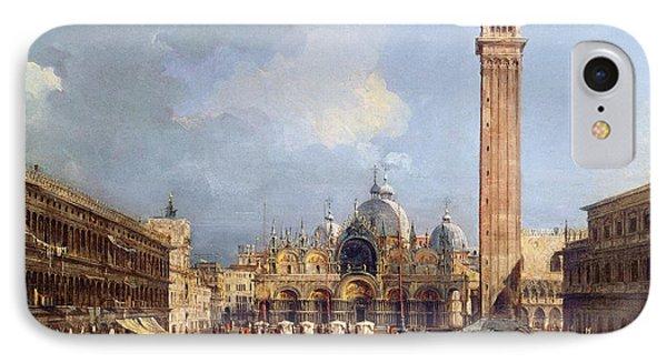Piazza San Marco, Venice IPhone Case by Francesco Guardi