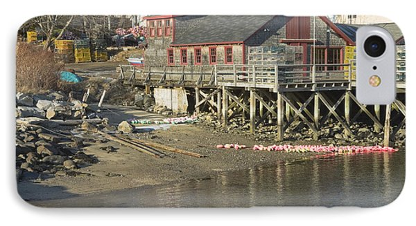 Pier In Tenants Harbor Maine IPhone Case by Keith Webber Jr