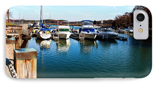 Pier Pressure - Lake Norman IPhone Case by Paulette B Wright