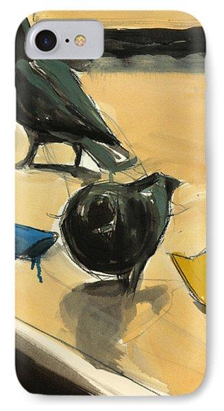 Pigeons IPhone Case by Daniel Clarke
