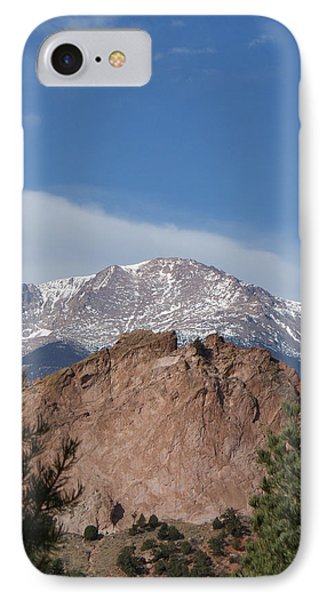 Pikes Peak 2 Phone Case by Ernie Echols