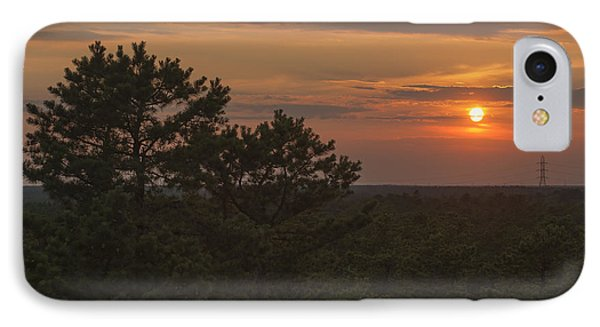 Pine Barrens Sunset Nj IPhone Case by Terry DeLuco