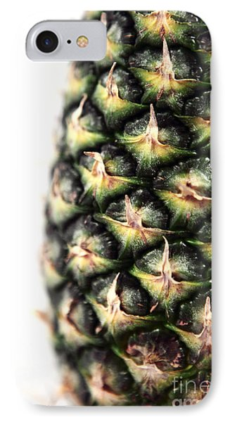 Pineapple Half Phone Case by John Rizzuto