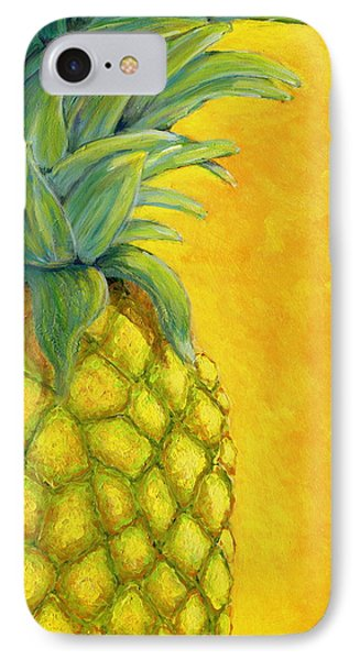 Pineapple IPhone Case by Karyn Robinson